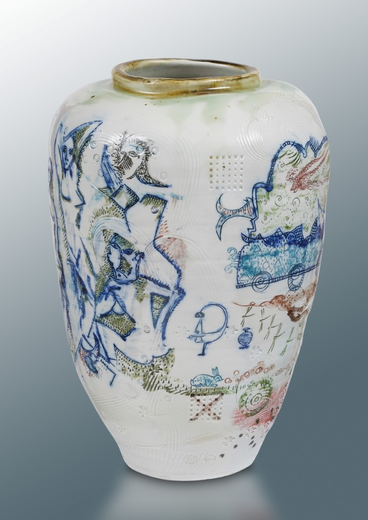 demoiselle avignon vase